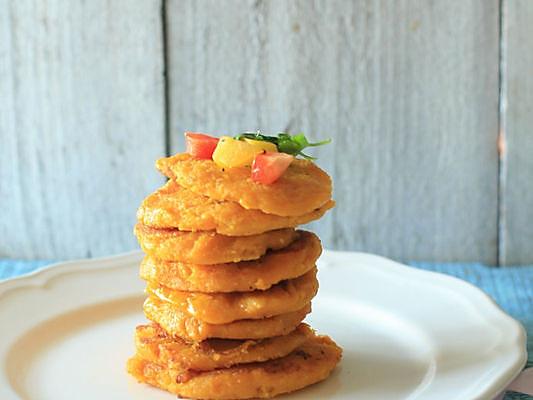 南瓜豆渣饼-将豆渣打造成色彩与味道的双重盛宴  的做法