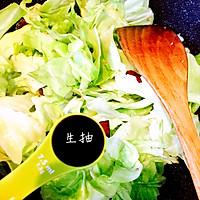 火爆圆白菜的做法图解4