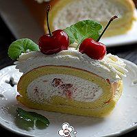 樱桃蛋糕卷的做法图解26