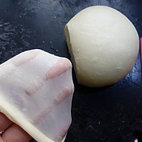 超软爱心黄桃面包(波兰种)的做法图解5
