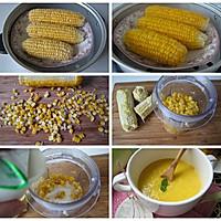 #早餐#不用一滴水的无添加儿童生态营养早餐--【原浆玉米糊】的做法图解1