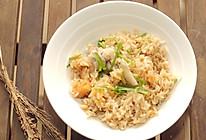 #快手又营养,我家的冬日必备菜品# 五花肉红薯什锦焖饭的做法