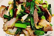 川味蒜苗炒腊肉的做法