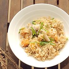#快手又营养,我家的冬日必备菜品# 五花肉红薯什锦焖饭