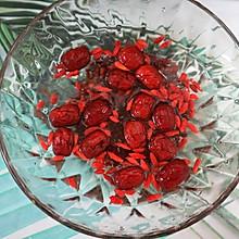 红豆红枣枸杞浆