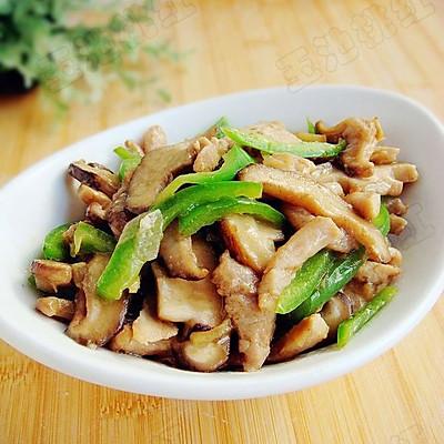香菇炒瘦肉