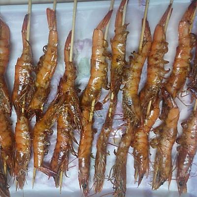 椒盐烤虾烤箱版