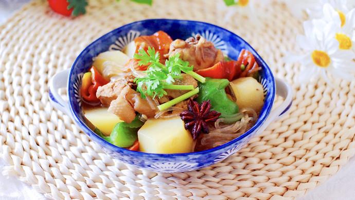 土鸡土豆粉条一锅炖