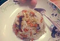 香菇闷饭的做法