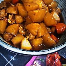 #烤究美味 灵魂就酱#奥尔良土豆烧鸡腿