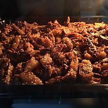 烤箱版牛肉干