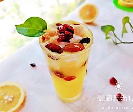 #轻饮蔓生活#酸酸甜甜的蔓越莓菠萝冰饮的做法