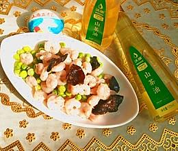 炒虾仁#沃康山茶油#的做法