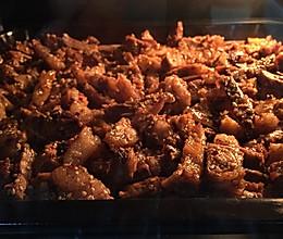 烤箱版牛肉干的做法