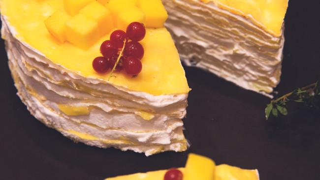 芒果千层蛋糕的做法