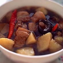 五花肉 炖土豆香菇五花肉