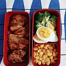 小熊每日午餐便当(健身餐五之奥尔良鸡肉)