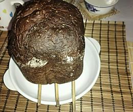 面包机制作可可蛋卷屑面包的做法