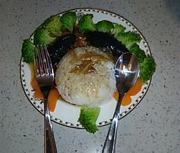 海参泡饭的做法