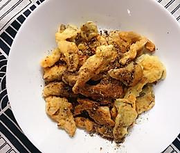 #憋在家里吃什么#椒盐蘑菇的做法