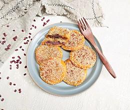 南瓜豆沙饼#换着花样吃早餐#的做法