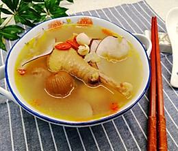 #一勺葱伴侣,成就招牌美味#清热祛湿,养颜润肺~海底椰煲鸡汤的做法