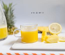 原汁机食谱 菠萝柠檬汁的做法