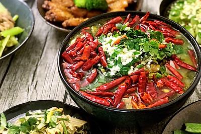 香辣酸菜鱼—在家做出饭店的味道