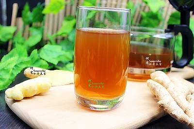 夏日红糖生姜养生茶