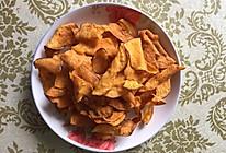 炸红薯片的做法