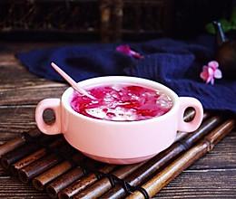 #初春润燥正当时# 火龙果莲子百合银耳粥的做法