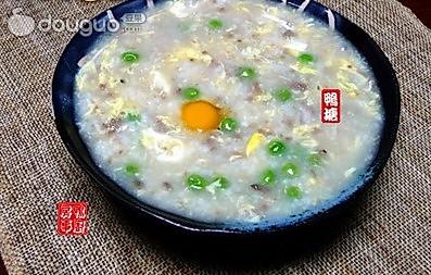 滑蛋免治牛肉粥的做法
