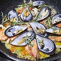 #硬核菜谱制作人#西班牙至尊海鲜烩饭的做法图解15