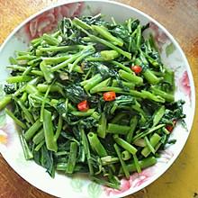 腐乳蒜泥空心菜