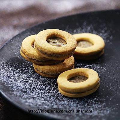 炼乳蜂蜜夹心饼干