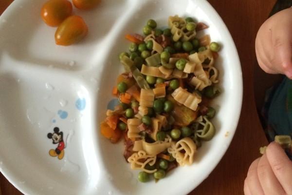 简易快速好吃的意大利面。妈妈必给宝宝做的菜。的做法