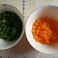 咸蛋黄香葱肉松手撕吐司的做法图解6
