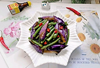 豇豆烧茄子的做法