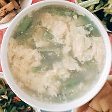 丝瓜鸡蛋汤(春季养生汤)