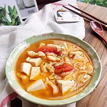 #父亲节,给老爸做道菜#番茄豆腐鱼片汤