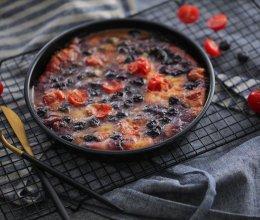 爆浆蓝莓披萨的做法