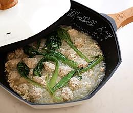 白菜粉丝丸子汤的做法