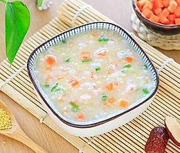 宝宝海鲜粥的做法