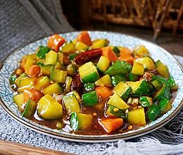 香辣火腿黄瓜丁的做法