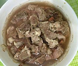 干蒸野猪肉的做法