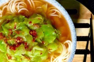 泰式苦瓜凉面(苦瓜不苦)—— 素食·一人食
