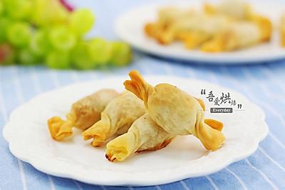 【九阳空气炸锅机美食】香脆糖果炸饺