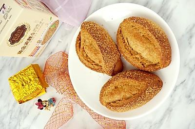 全麦红糖小麦胚芽面包