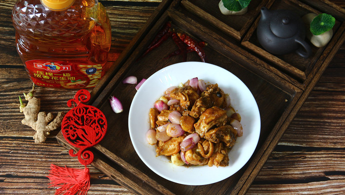 金牌干葱豆豉鸡(复刻版)