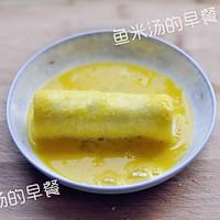 鸡蛋土司香蕉卷——宝宝辅食、营养早餐、甜蜜下午茶的做法图解5